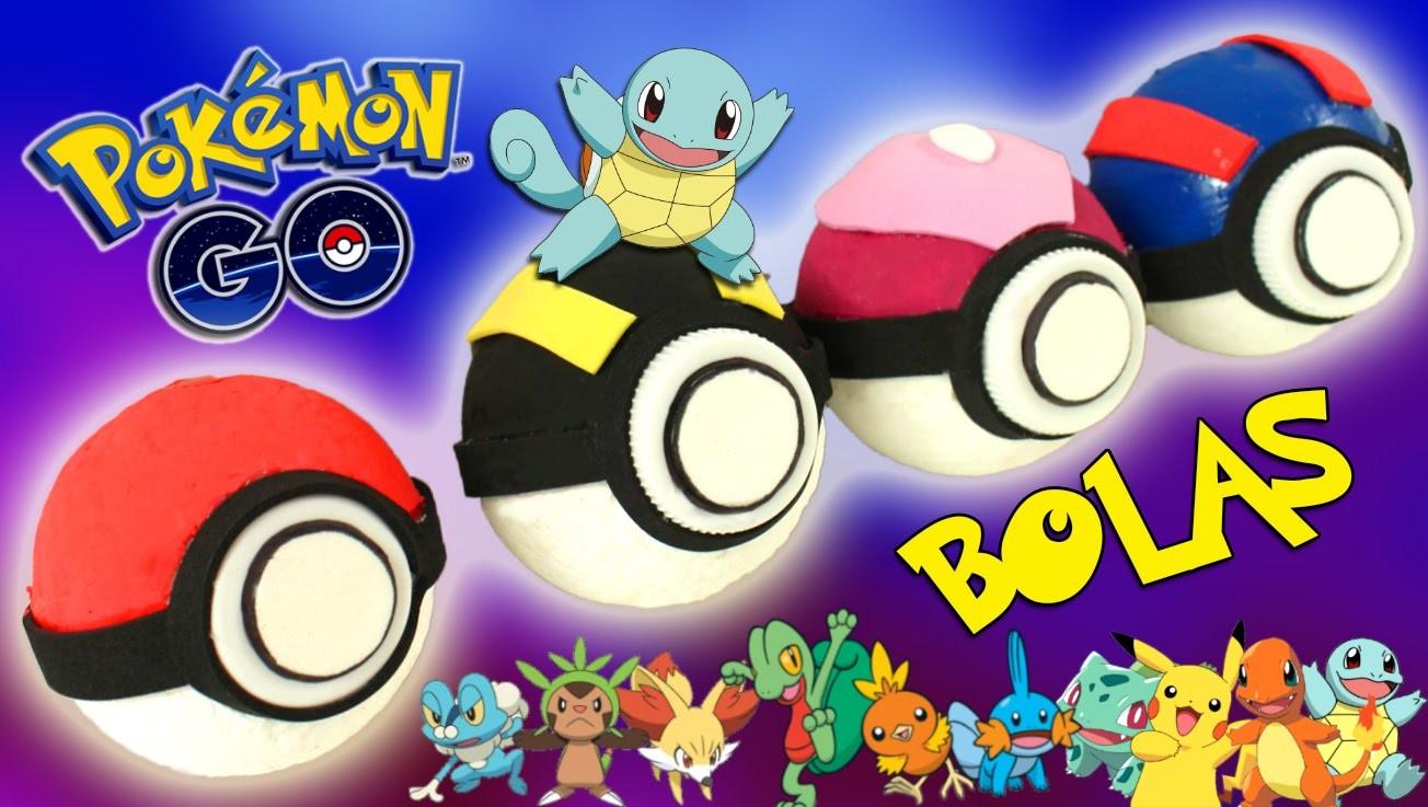Bolas POKEMON GO real life * DIY Pokeballs