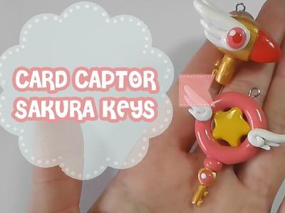 Card Captor Sakura Keys Polymer Tutorial | Fimo | Porcelana | Plastilina