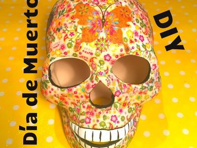 DIY calavera de Ceramica servilleta Dia de Muertos ceramic paste napkin Halloween