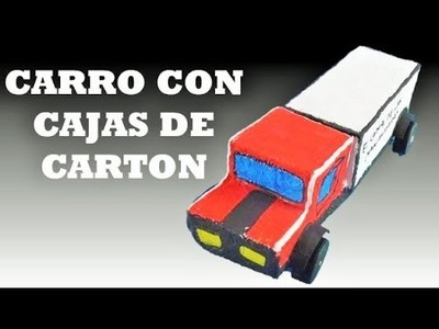 DIY : Como Hacer  Camiones. How to Make Trucks - Christmas decoration