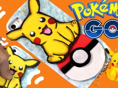 DIY Funda para móvil y  Pikachu de masa elástica: Pokemon GO