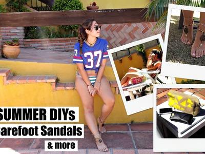 DIY: Sandalias Descalzas & más. Barefoot Sandals & more