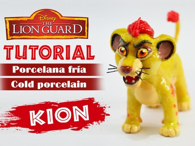 DIY - The guard lion tutorial - Kion polymer clay - porcelana fría - plastilina