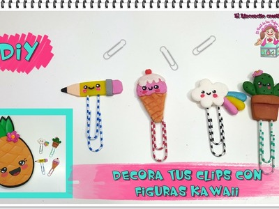 DIY-TUTORIAL DECORA TUS CLIPS CON MOTIVOS KAWAII