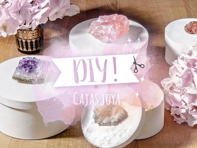 DIY Westwing | Cómo hacer cajas joya para guardar accesorios y decorar