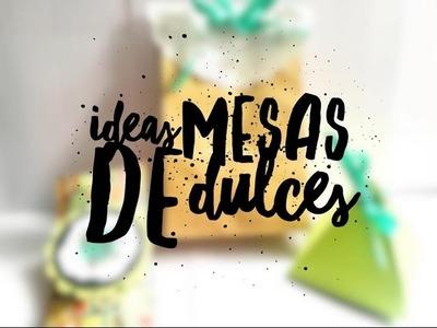 TUTORIAL 3 Cajitas Fáciles para Mesas de Dulces.DIY 3 Candy Station Boxes