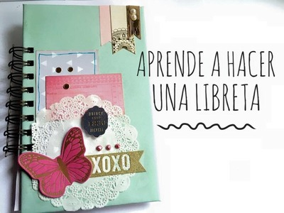 TUTORIAL Libreta de tareas.DIY Notebook