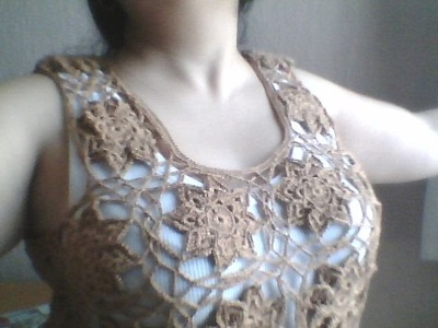 BLUSA BETTY EN CROCHET PARTE 2 DE 4