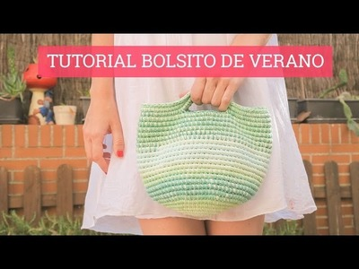 Bolso de verano en ganchillo | Crochet summer handbag