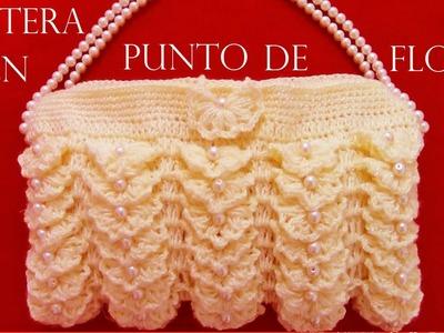 Como tejer fácil y rápido una cartera para fiesta - tutorial crochet in Spanish
