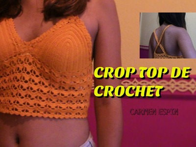 CROP TOP DE CROCHET: DIY
