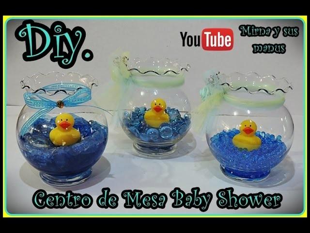 Diy Centro de Mesa Baby Shower   Mirna y sus manus. Diy Baby shower centerpiece