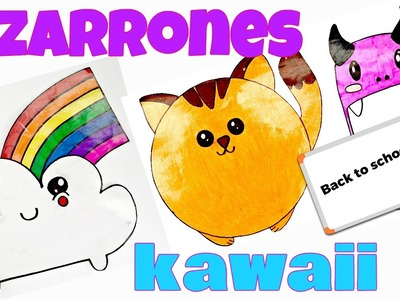 DIY - Pizarrones KAWAII - Regreso a clases - Back To School
