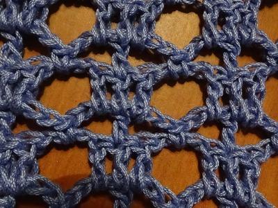 Puntada a crochet, linda y fácil; rápida y divertida. Muestra No. 45