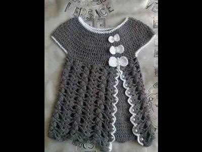 Tejidos crochet para bebes y niños 2016-2017