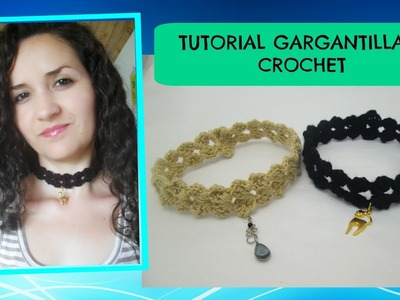 Tutorial Choker a crochet