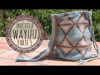 Tutorial Mochila Wayuu Ganchillo | Crochet - Parte 3