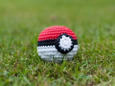 Amigurumi | Como hacer una Poké Ball en crochet | Bibiana Mejia Crochet 2016