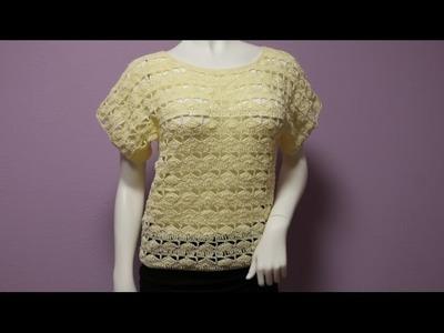 Blusa para Principiantes Crochet