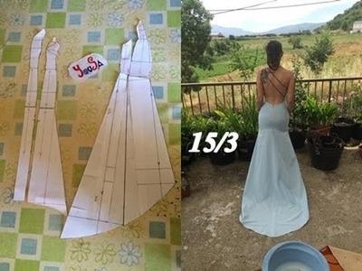 CROCHET IRLANDES- Vestido de novia Tutorial 15.3 Falda Delantera y Modificaciones Patron Delantero