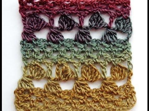 Crochet: Punto Fantasía # 23