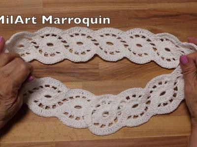Orilla ó Cinto Crochet
