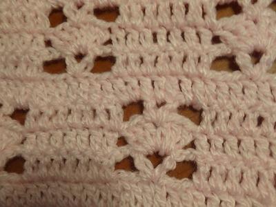Puntada a crochet,  rápida y divertida. Muestra No. 59