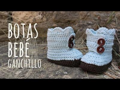 Tutorial Botas Bebé Ganchillo | Crochet