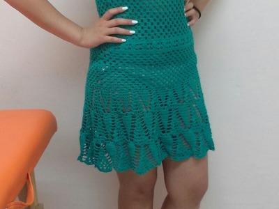 Vestido de playa de crochet - parte 1