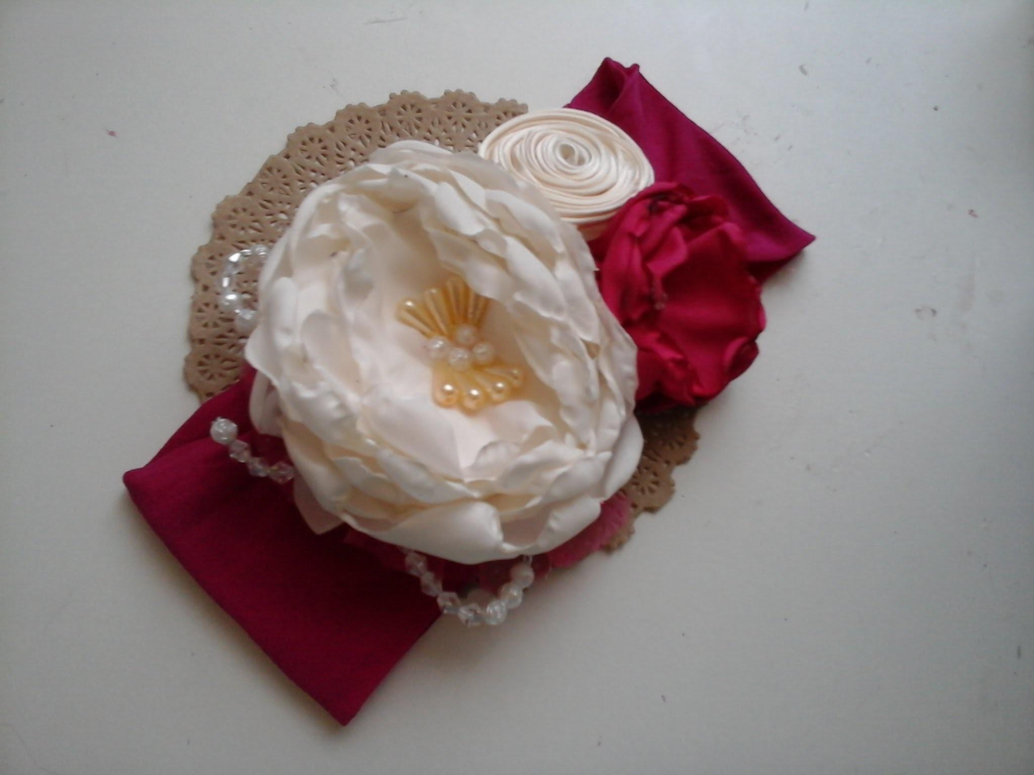 Como hacer una tiara para graduacion, how to make a tiara, valerina, diadema,balaca,vincha