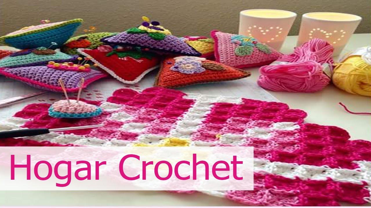 Decoracion para el hogar tejida en crochet for Decoracion del hogar en crochet