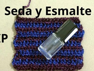 Secreto o Tip sobre cuando tejemos a crochet seda tutorial paso a paso.