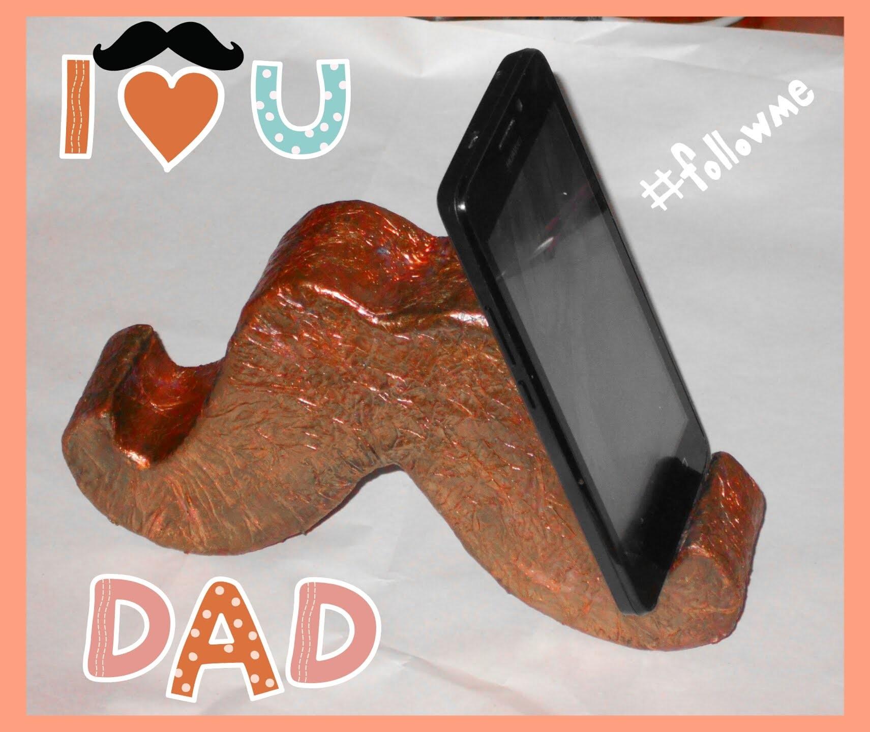 Base Para Celular Manualidades Dia Del Padre Cell Phone Stand
