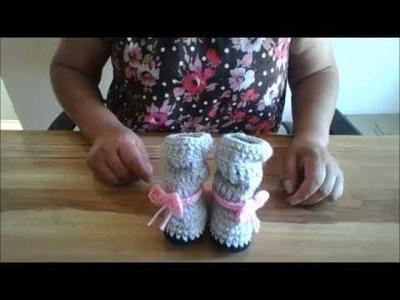 Botitas Melanie a Crochet |Fácil|