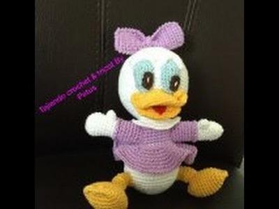 Como tejer a Daisy bebe Amigurumi (crochet) 1a. PARTE