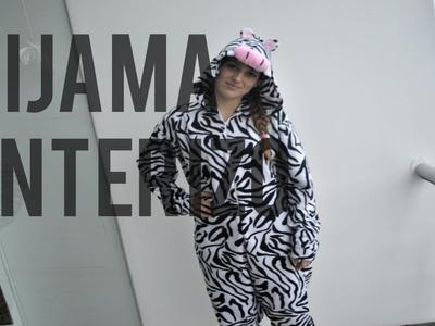 DIY : Pijama Enterizo de zebra !!. Onesie