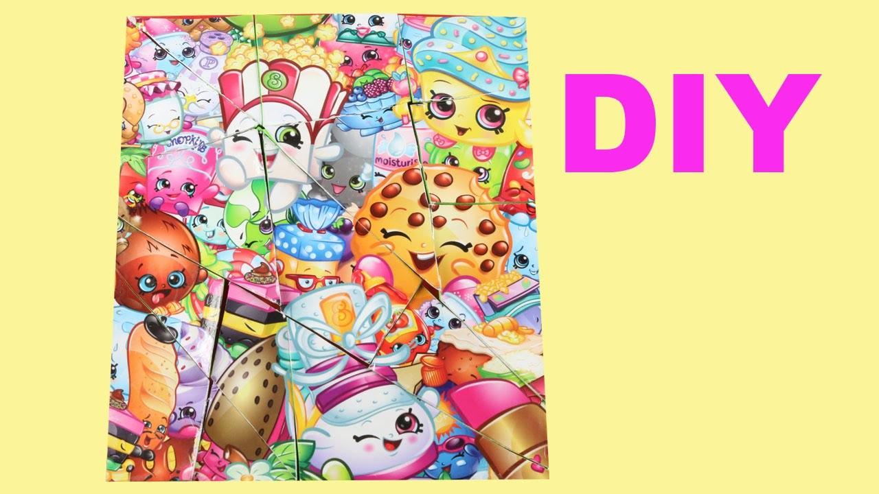 En Español Manualidades De Videos Shopkins Puzzle Diy wNn0vm8