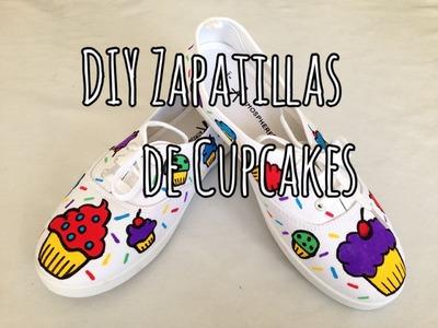 DIY Zapatillas de Cupcakes | Cupcake Shoes