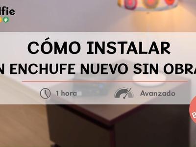 Cómo instalar un enchufe nuevo sin obras · Handfie DIY