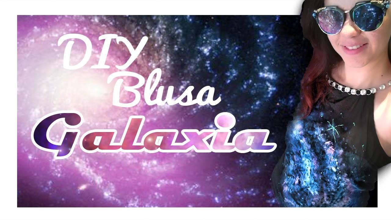 DIY Blusa Galaxia - Kath Craft -