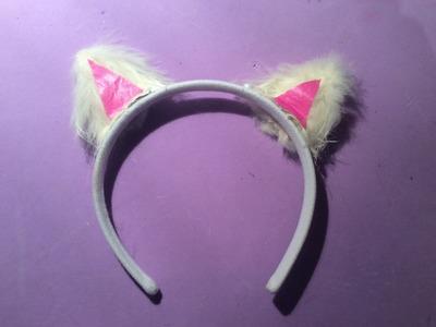 DIY: Como hacer orejas de gato