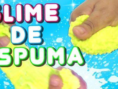 DIY | COMO HACER SLIME DE ESPUMA O FOAM CLAY SIN BORAX
