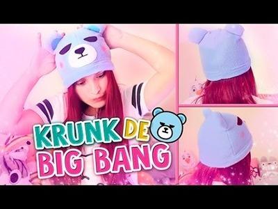 DIY KPOP ✔ GORRO DE OSO - KRUNK DE BIG BANG ♡ (FÁCIL) l Fabbi Lee