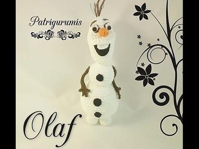DIY Olaf amigurumi en ganchillo - crochet