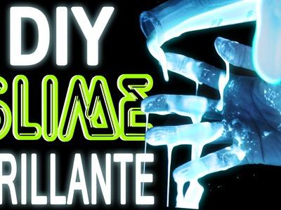 DIY SLIME RADIOACTIVO! 2 INGREDIENTES! | SIN BORAX, SIN DETERGENTE! - Mariale