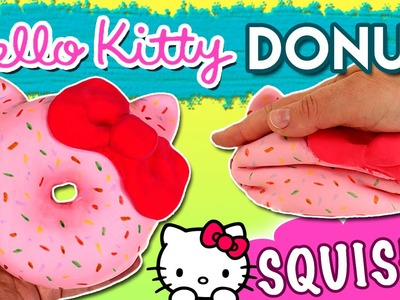 DONUT Squishy HELLO KITTY *DIY Hello Kitty Squishy Donut