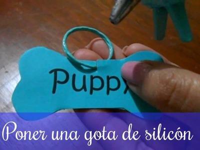 PLACA CASERA PARA MASCOTA. DIY placa casera para perro ♥