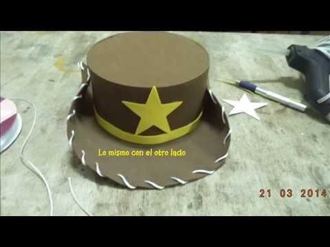 3bf3e19814086 Copia de Como hacer sombrero woody de toy story foamy - DIY
