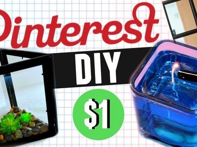 Decora tu cuarto estilo Pinterest. Dollar Tree . DIY fácil y económico | Karen Rios
