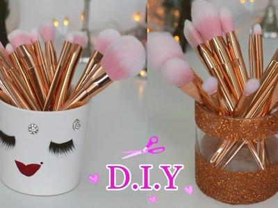 DIY Porta Brochas ♡ Sostenedor de Brochas de Maquillaje ♡ Colab ♡BeautyByPriscila♡